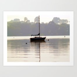 At Rest in Calm Waters- Photographic Collection Art Print