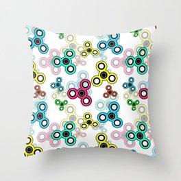 Spinner Throw Pillow
