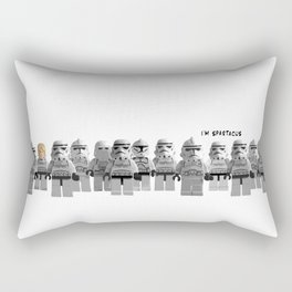 Spartacus Star Wars LEGO - Luke Storm Trooper (Long) Rectangular Pillow