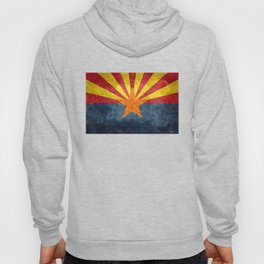 State flag of Arizona, the 48th state Hoodie