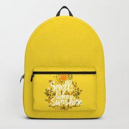 Smells Like Sunshine Backpack