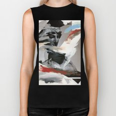 Untitled (Painted Composition 4) Biker Tank
