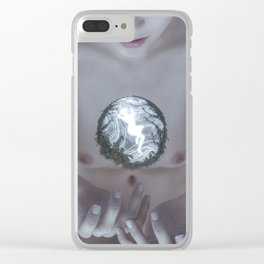 Divine (Uncensored) Clear iPhone Case