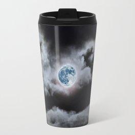 Blue Moon I Wonder Travel Mug