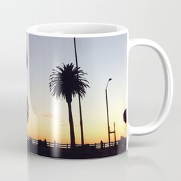 Palm Trees at Sunset Coffee Mug