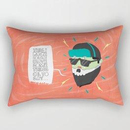 Place Holder Rectangular Pillow