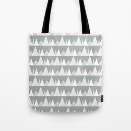 Scandinavian Trees | gray Tote Bag