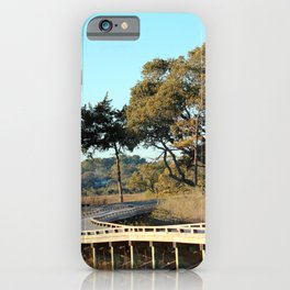 Explore Across The Bridge iPhone Case