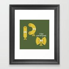 Pasta Party Framed Art Print