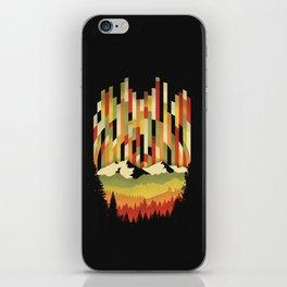 Sunset in Vertical iPhone Skin