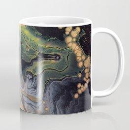 83 Explosion Yellow | Abstract Artwork Coffee Mug