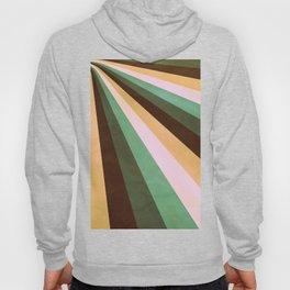 Stripes Coming Atcha Green Hoody