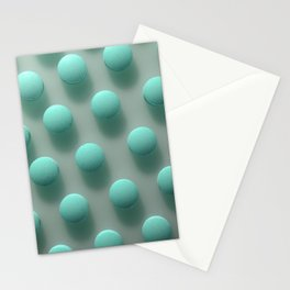 Blue Pills Texture Stationery Cards