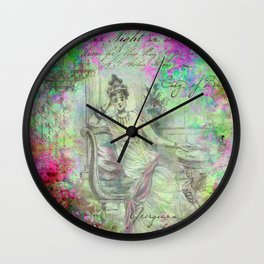 One Night in the City of Bath Wall Clock