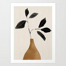 minimal plant 6 Art Print