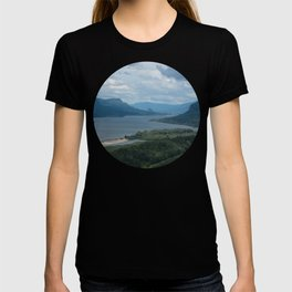 Columbia River Gorge From The Vista House T-shirt