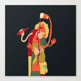 Wine Fountain Canvas Print