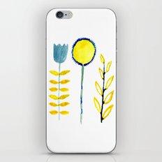 simple flowers iPhone & iPod Skin