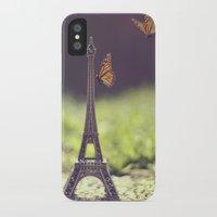 eiffel tower iPhone & iPod Cases featuring Eiffel Tower by Gabriela Da Costa