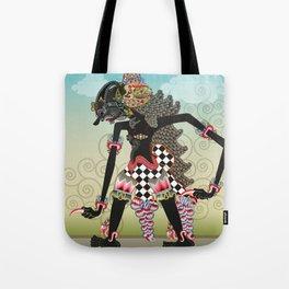 Wayang or shadow puppets Tote Bag