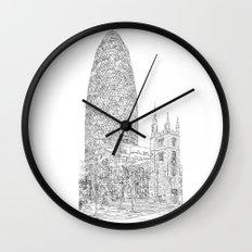The Gherkin Wall Clock