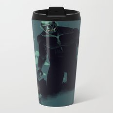 shadow of the titan Metal Travel Mug