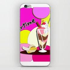 Summertime fruit drink iPhone & iPod Skin