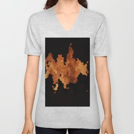 Autumn Fire Unisex V-Neck