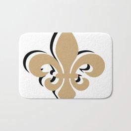 New Orleans Louisiana Fleur De Lis Gifts Saints Bath Mat