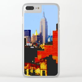 """NYC from L.E.S."" Clear iPhone Case"
