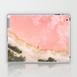 iOS 11 Rose Gold iPad background Laptop & iPad Skin