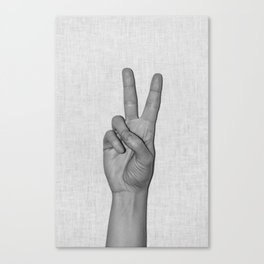 Peace it Canvas Print