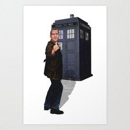 9th Doctor Art Print