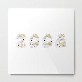 White Flower 2008 Metal Print