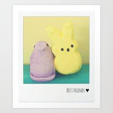 Best Friends ♥ Art Print
