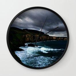 Irish Seascape Wall Clock
