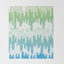 Trippy Drippys Throw Blanket