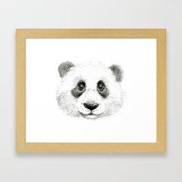 Giant Panda portrait SK063 Framed Art Print