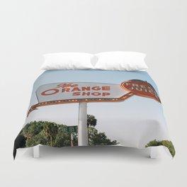 The Orange Shop Duvet Cover
