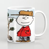 snoopy Mugs featuring Snoopy 01 by tanduksapi