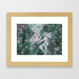 Seeing Something in Nothing Framed Art Print