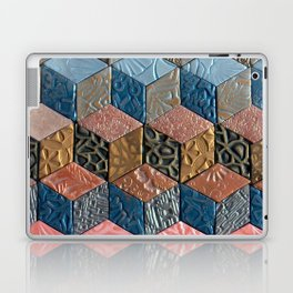 Tumbling Blocks #3 Laptop & iPad Skin