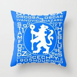 MixWords: Chelsea Throw Pillow