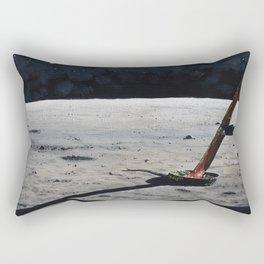 Magnificent desolation Rectangular Pillow