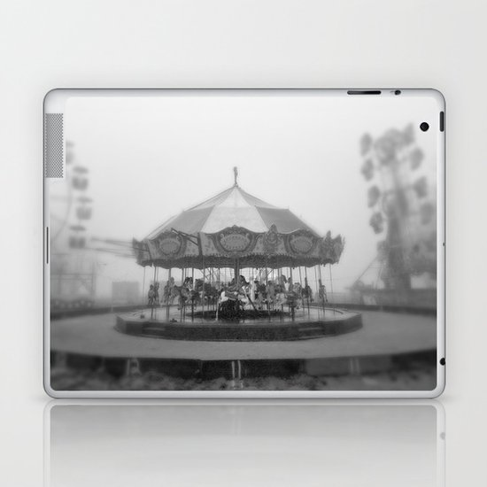Silent Beach Park Laptop & iPad Skin
