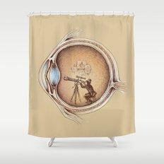 Extraordinary Observer Shower Curtain