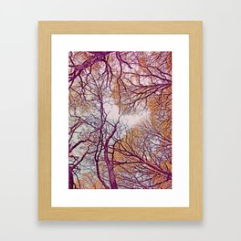Be Connected Framed Art Print
