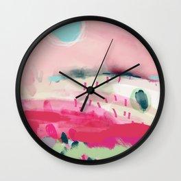 spring dream landscape Wall Clock