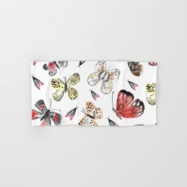 Fly fly butterfly Hand & Bath Towel