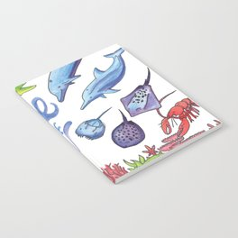 Free as the Sea Notebook